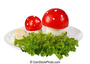 Tomato toadstools