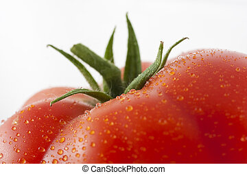 Tomato - Top of fresh wet tomato