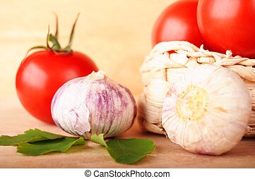 tomato vegetable - tomatoes vegetable and garlic with ...