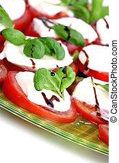 tomato with cheese mazzarella