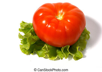 Tomato with the salad 5