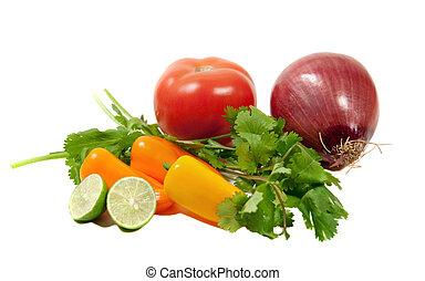 tomatoe, salsa, ingredientes