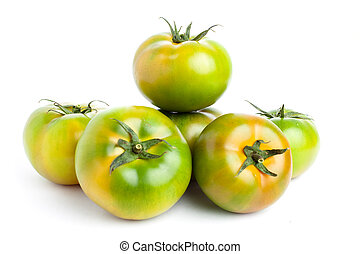tomatoe, verde