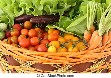 tomatoes and vegetable