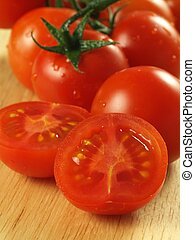 Tomatoes, closeup