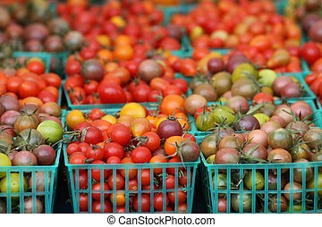 Tomatoes in Baskets 2