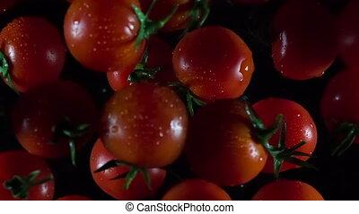 tomatoes in flight