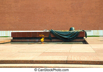 tomb of unknown soldier and eternal flame