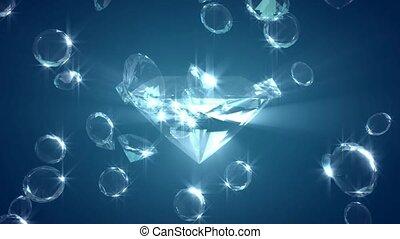 tomber, diamants