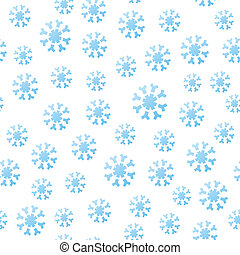 tomber, seamless, flocons neige