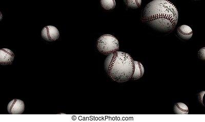 tomber, softballs