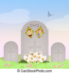 tombstone, dois