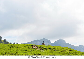 tombstone on Appenzell Switzerland