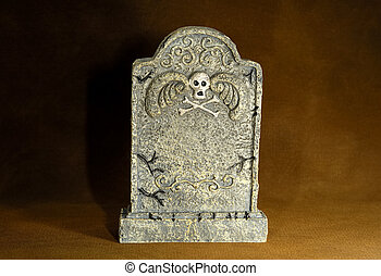 Tombstone - Photo of a Graveyard Tombstone