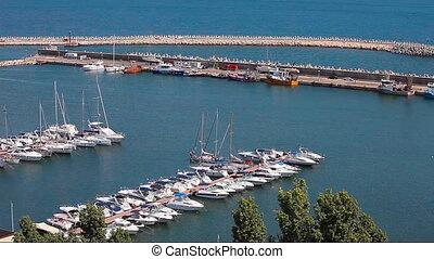 Tomis Marina Constanta Romania - The Touristic Harbor of...