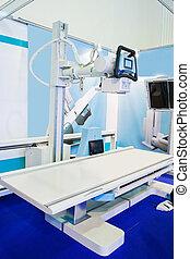 tomografía, automatizado, axial, exploración