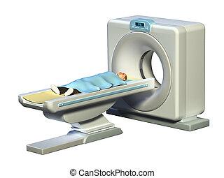 tomography, geautomatiseerd, axiaal