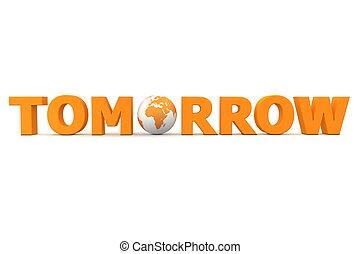 Tomorrow World Orange