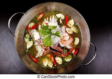 tomyum seafood