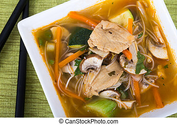 tomyum soup - tomyum thai soup