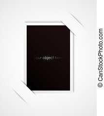 ton, cadre, objet, photo