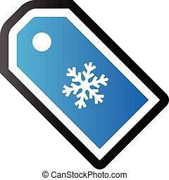 ton, winter, duo, -, verkauf, ikone