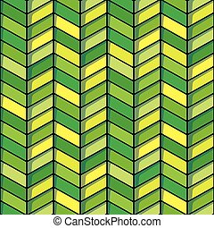 tonalités, herringbone, seamless, vert jaune, fond