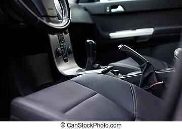 toned, image), auto, moderne, (color, interieur