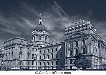 Indiana Capitol Building.