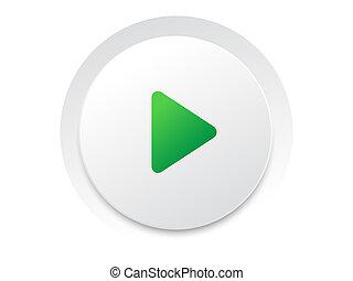 toneelstuk, eenvoudig, knoop,  switch,  Vector,  UI, cirkel