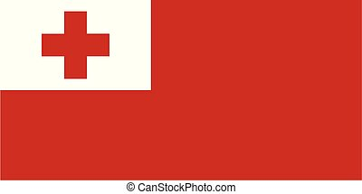 tonga , εθνική σημαία