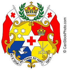 Tonga Coat of Arms - Tonga coat of arms, seal or national ...