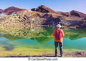 Tongariro - Mount Taranaki / Mount Egmont in Egmont National...