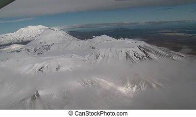 Tongariro National park 2 - aerial flight over tongariro...