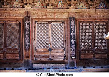 tongdosa, 韓国, 寺院, 南