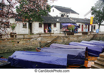 Tonglin water village in China