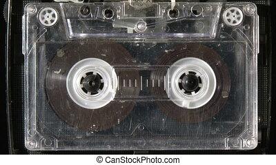 tonkassette, spielende