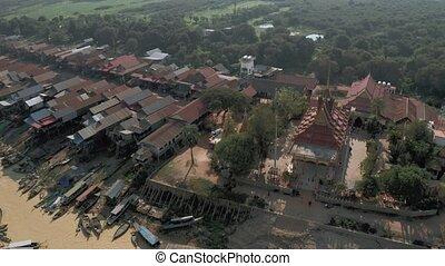 tonle sève, pean, vol, lac, bourdon, coup, phluk, cambodge, ...