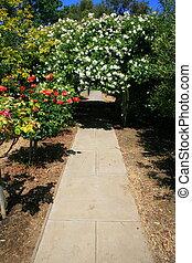 tonnelle, jardin