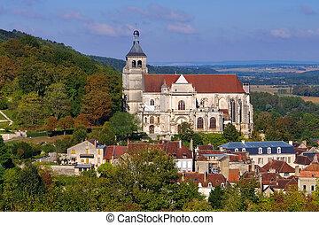 Tonnerre church Saint Pierre in Burgundy,  France