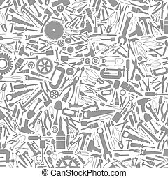 Tool a background4 - Grey background from tools. A vector ...