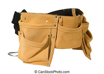 tool belt heavy duty suede leather work apron with pockets