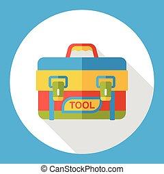 tool box flat icon