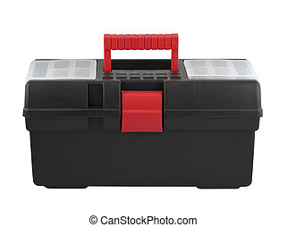 Tool box with handle
