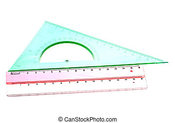 Tool for measurement on white