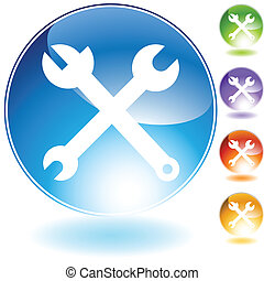 tool icon isolated on a white background.