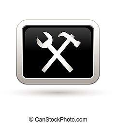 Tool icon. Vector illustration
