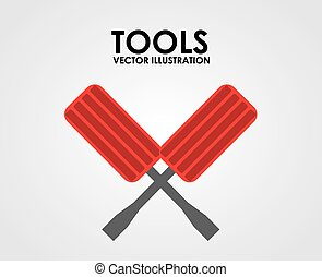 tool kit design, vector illustration eps10 graphic