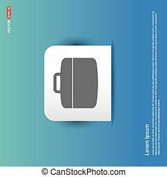 Tool Kit Icon - Blue Sticker button