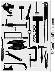 Tool locksmith joiner, (contour). [Converted].eps